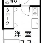 1階の角部屋